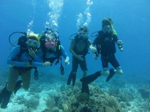 Scuba divers complete their scuba certification aboard Caribbean Dream with her captain who is a dive instructor