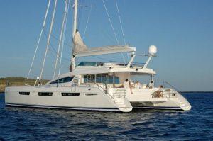 MATAU 75' Privilege catamaran charters Fiji, the Marshall Islands, and Indonesia