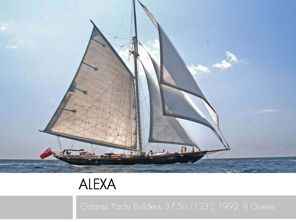 Classic beauty ALEXA OF LONDON inspired by the elegance of the original Royal Yacht BRITANNIA 123' Gdansk (Poland) Gaff Cutter, 1992/2011