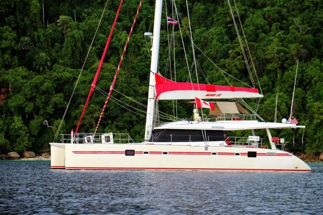 luxury catamaran BLAZE. 62' Sunreef Catamaran, 2007 for charter from Phuket, Thailand, Southeast Asia