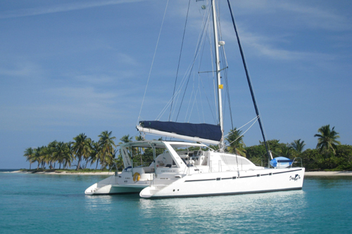 Dreaming On Leopard 47' Catamaran for charter in Belize
