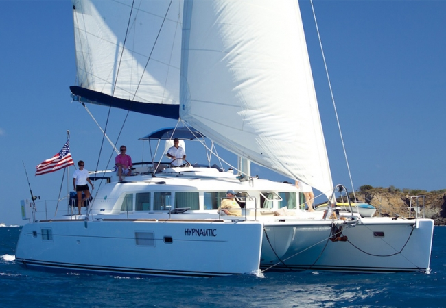 Sailing Yacht HYPNAUTIC Wired for Satelite TV, Bluetooth, & Wifi 45' Lagoon (France) Catamaran, 2007