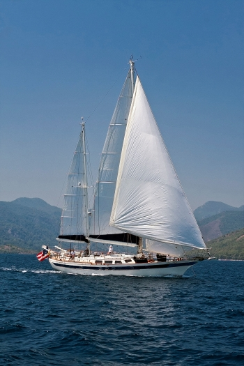 Lady Nathalie 72' Scorpio CT Ketch available for charter in Marmaris, Turkey