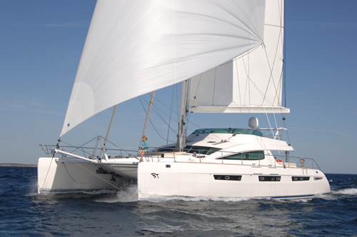 For Multi-generational families with couples, MATAU is worthy and available in Tonga, Fiji, Vanuatu and New Caledonia this summer 75' Privilege Catamaran Sloop, 2006