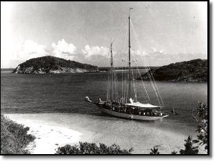 Mollihawk 70' Schooner Commander Vernon E.B. Nicholson, English Harbour, Antigua, Rodney Nicholson, Julie P. Nicholson
