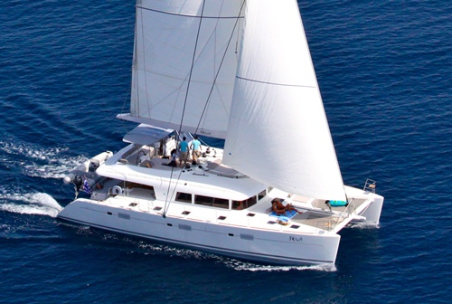 62 ft Lagoon Catamaran NOVA, the Perfect Charter Yacht! for a Celebration in Greece!