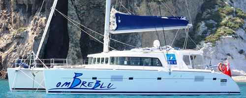 S/Y OMBRE BLU 51' Lagoon Catamaran, 2008 Sail Sicily Italy and her Aeolean Islands including Amalfi, Capri, and Naples