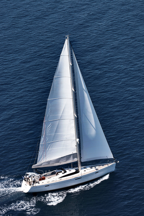 S/Y SHOOTING STAR, a 66-foot performance sloop that is a thrill to sail 66' Gianetti SLR Sloop, 2008
