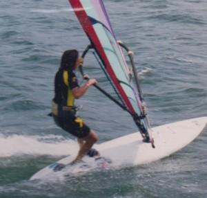 Windsurfing Peter Island, BVI
