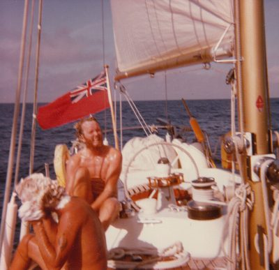 My cruise aboard the 66' sloop actually started in Bermuda.... We sailed across the Atlantic and stationed in Sardinia for the Summer.