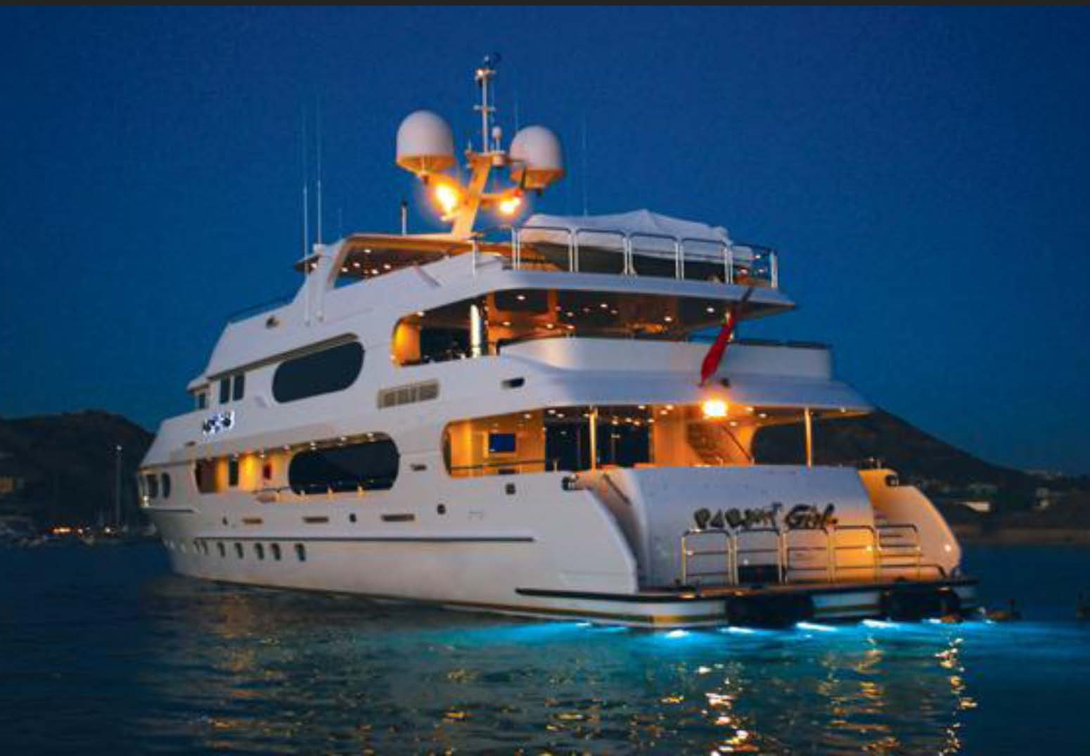 Party Girl Nicholson Yacht Charters
