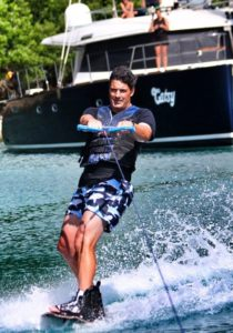 Catsy offers wakeboarding to guests