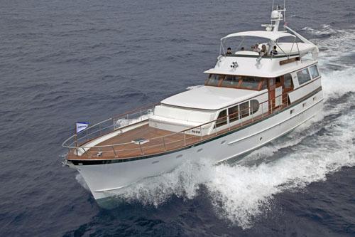 Yacht In Palm Beach