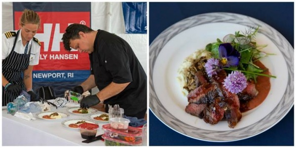 Newport Charter Yacht Show Presented by Helly Hensen chef cook off culinary competition