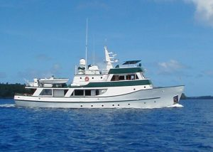 ASKARI 107' Power yacht for charter in French Polynesia