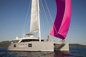 Maverick, 70' Sunreef catamaran sailing yacht